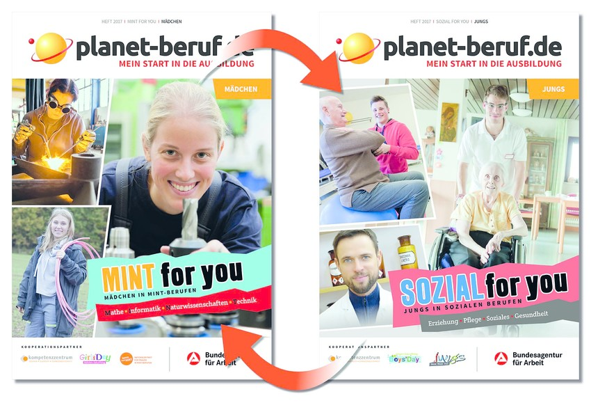 planet-beruf.de: MINT & SOZIAL for you 2017