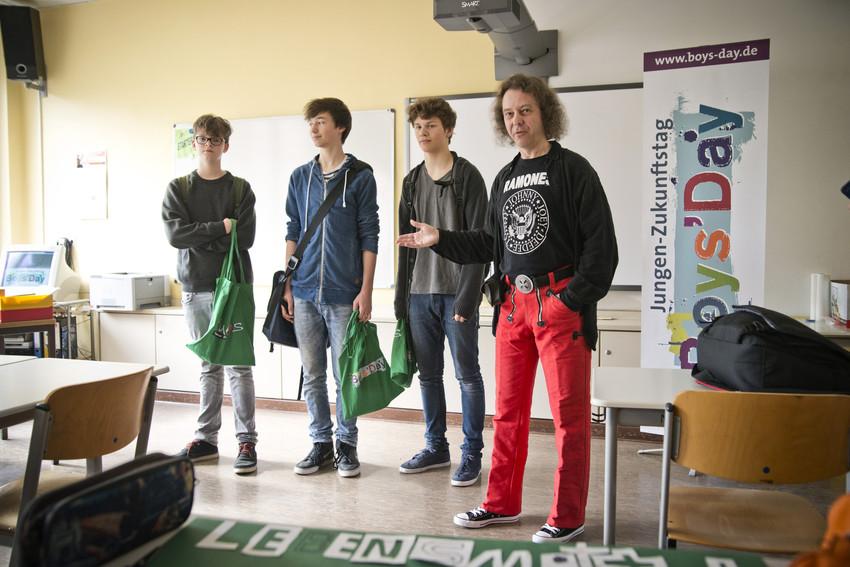 Boys'Day 2013, Grundschule Berlin